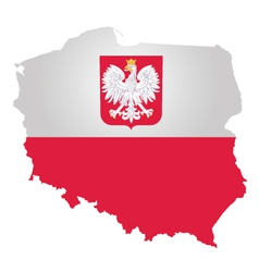 Poland flag vector