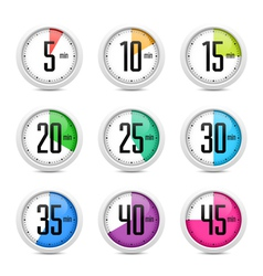 Set of timers vector