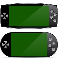 Portable gamepad concepts vector