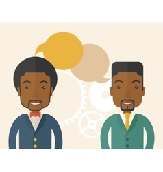 Black business people vector