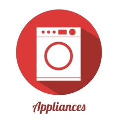 Appliance icon vector