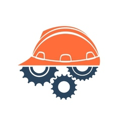 Construction conceptual logo vector