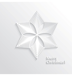 Design snowflake vector