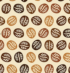 Coffee hand drawn pattern vector