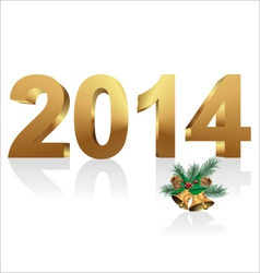 New year 2014 vector