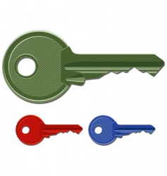 Door keys vector