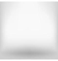 White empty backdrop vector