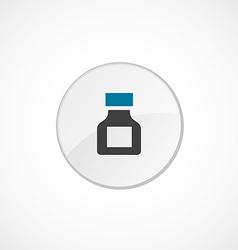Drugs icon 2 colored vector