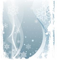 Snowing background vector