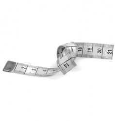 Tape measure vector