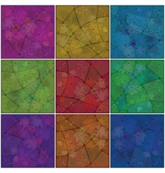 Backgrounds mosaic with pattern vector