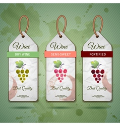 Grapes or wine concept design vector