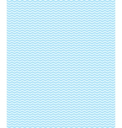Seamless sea pattern light blue waves on white vector