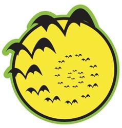 Halloween bats vector
