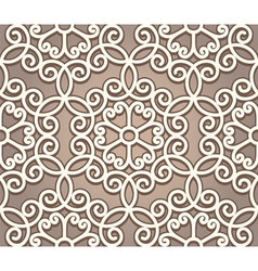 Vintage lace pattern vector