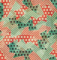 Vintage cloth geometric seamless texture vector