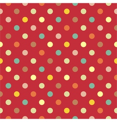 Polka dots seamless pattern vector