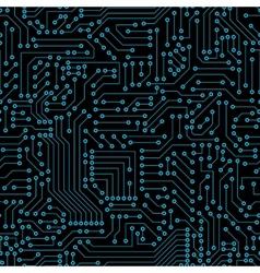Seamless pattern computer circuit board vector