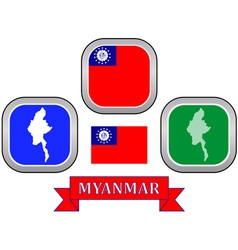 Symbol of myanmar vector