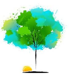 Natural tree vector