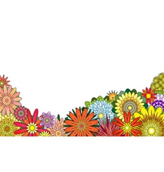 Flower foreground vector