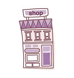 Icon shop vector