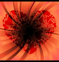 Deep love vector