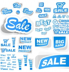 signs for sale vector