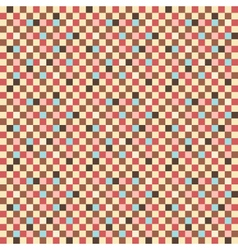 Seamless square pattern multicolored squares vector
