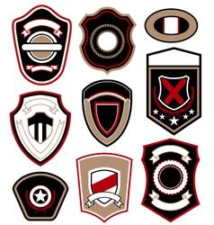 Royal military badge vector