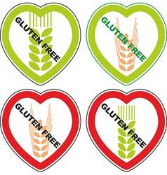 Symbol gluten free vector
