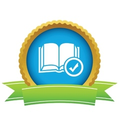 Chosen book icon vector