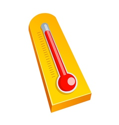 Icon thermometer vector