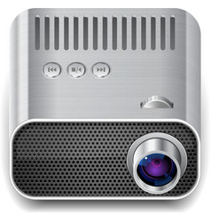 Icon for projector vector