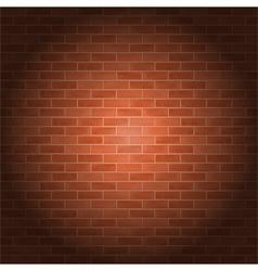 Brick wall vector