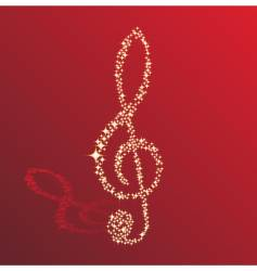 Sparkle clef vector