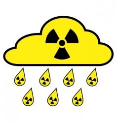 Radioactive fallout vector