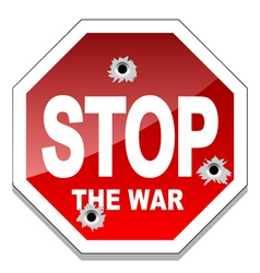 Stop the war vector