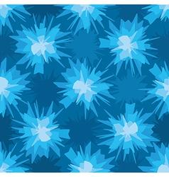 Scratchy blue blot seamless pattern vector