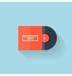 Flat web icon vinyl vector