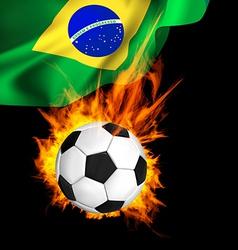 Soccer firflag vector