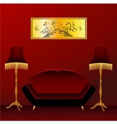 Interior design vector
