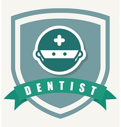 Dentist design vector