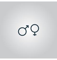 Sex symbol vector