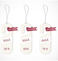 Discount tags vector