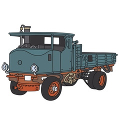 Steam truck vector