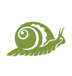 Vintage snail vector