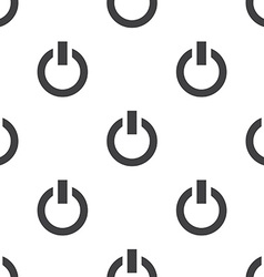 Power on seamless pattern vector