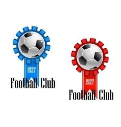 Football club emblem vector