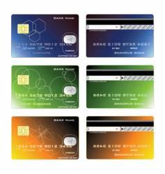 Cards design vector